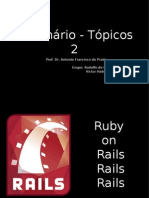 Seminario de Topicos 2 -  Ruby on Rails