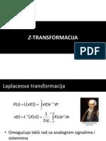 PDT 2 - Z-transformacija