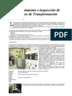 Inspección de Centros de Transformación