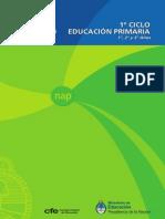 Núcleos de aprendizajes prioritarios. Primer Ciclo 2011