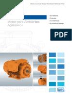 WEG Wmining Motor Para Ambientes Agressivos 50009265 Catalogo Portugues Br