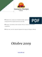 ADOC - Rassegna Stampa Ottobre 2009