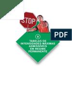 8. Tabela de Intensidades Maximas Admissiveis Em Servico Permanente