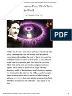 10 Amazing Inventions From Nikola Tesla That Changed the World _ the Mind Unleashed