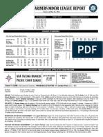 05.27.14 Mariners Minor League Report