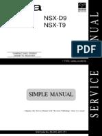 AIWA NSX-F595 Service Manual
