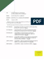 GM-05 - CCA Legislative Report 0106