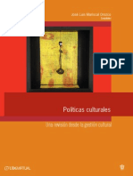 Politicas Culturales