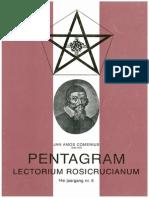 Biografie Comenius Jan Amos Komensky Tijdschrift Pentagram 1992 Nummer 5
