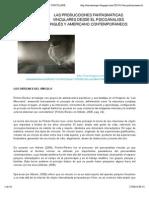 LAS PRODUCCIONES FANTASMÁTICAS VINCULARES DESDE EL PSICOANALISIS INGLÉS Y AMERICANO CONTEMPORÁNEOS | ENCUENTRO PSICOANALÍTICO