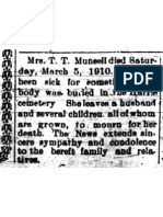 Munsell, Mrs. T.T. 10 Mar 1910 p 11