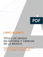Libro Blanco Musica Uam