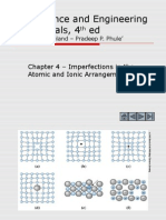 Cap4(Imperfections in the Atomic Arrangement).ppt