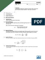 Mixing Fundamentals Terminology and Formulas