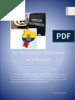 Ley de Comercio Electrónico en El Ecuador