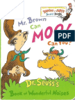 1970 - Mr Brown Can Moo - Can You - Dr Seuss