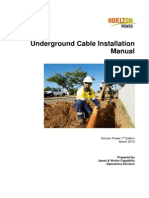 Underground Cable Installation Manual Word