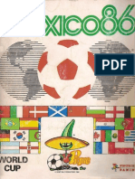 Panini World Cup 1986 - Mexico