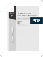 Acuerdos Conjuntos Niif 11