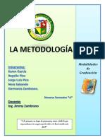 09LA METODOLOGIA