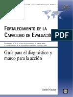 Banco Mundial Evaluación