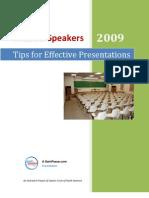 Muslim Speakers - Tips for Effective Presentations