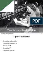 07 - Tipos de Centralitas