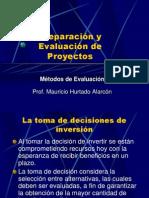 Métodos de Evaluación de Proyectos