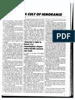 ASIMOV 1980 Cult of Ignorance