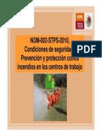 2.Modificaciones a La NOM 002 STPS 2000