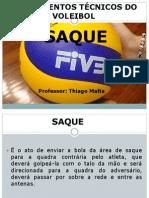 Fundamentos Técnicos Do Voleibol