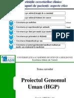 HGP_testarea genetica