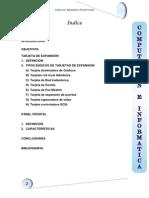 Tarjeta de Expansion y Panel Frontal