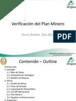 Verificacion Del Plan Minero