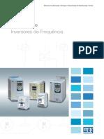WEG Inversores de Frequencia 10525554 Catalogo Portugues Br