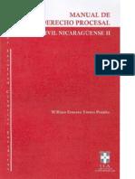 Derecho Procesal Civil Nicaraguense William Ernesto Torrez Peralta