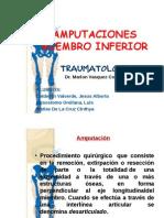 Amputaciones Miembro Inferior