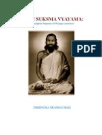 YOGIC SUKSMA VYAYAMA Dhirendra Brahmacharya