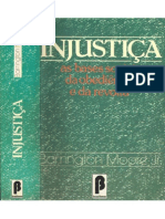 MOORE JR. Barrington - Injustiça - As Bases Sociais Da Obediência e Da Revolta