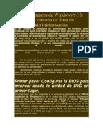 Recuperar Contraseña de Windows Con CD de Instalacion