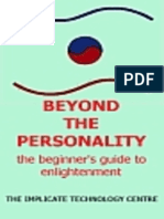 Beyond the Personality