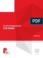 The Art of Finding the Arc - Live Events