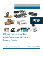 Buyers Guide Office Consumables