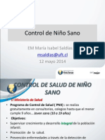 Control de Salud Del Nino 2014 Uft Enfermeria Comunitaria