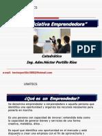 La Iniciativa Emprendedora HPR 2013