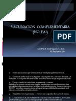 VACUNACION  COMPLEMENTARIA