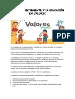 6aba53 Disciplina Inteligente y La Educacion en Valores
