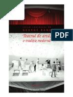 32043256 George Banu Teatrul de Arta o Traditie Moderna