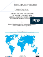 The External Financing of Brazilian Imports