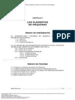 Capitulo, Elementos de Una Maquina , Del Libro Mecánica Aplicada Al Diseño, Pag 17 a 25